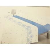 Juego de Sabanas Nonni- JS-Azul-90 x 200cm.